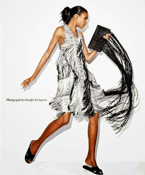Calvin Klein 2014 SS Grey Tassels Cocktail Dress