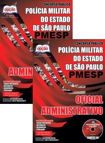 APOSTILA PMESP OFICIAL ADMINISTRATIVO CONCURSO 2014