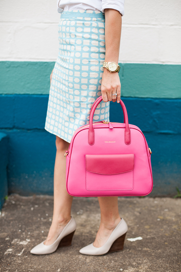 Here&Now: bright color teacher style