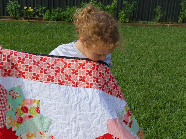 B is for Bloom Quilt