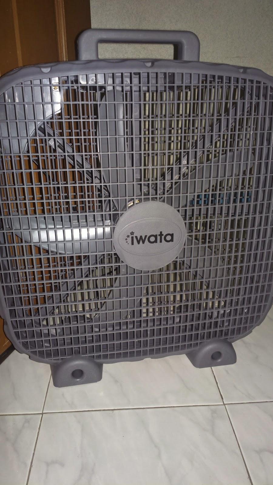 The Iwata Industrial Box Fan