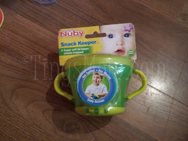 Nuby Snack Keeper #sponsored