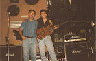 Ricardo con Paco Nieto (Sala Krokos, Sarria, 07 07 95)