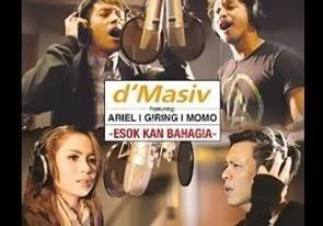 Download Lagu D'Masiv feat Ariel, Giring, Momo - Esok Kan Bahagia Mp3