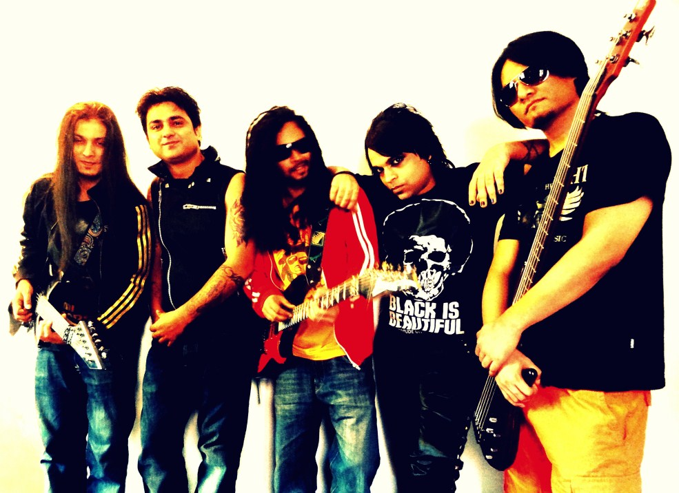 Punkh: hard rock / metal quintet from New Delhi, IN played in E115 of the ArenaCast