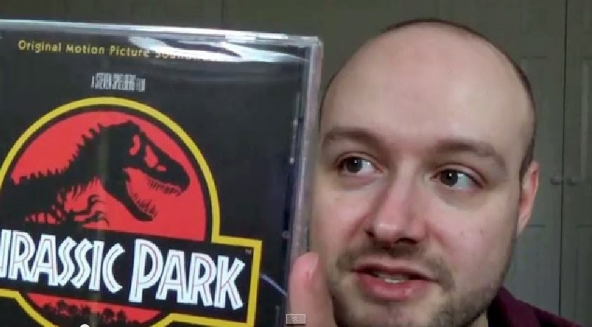 jurassic park cd unboxing