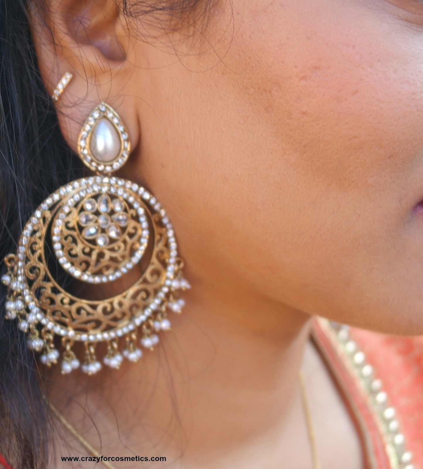 indian chandbali earrings