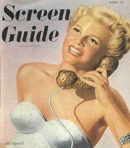 SCREEN GUIDE magazine, NOVEMBER 1946, GENE TIERNEY COVER, Vol 11 No 11