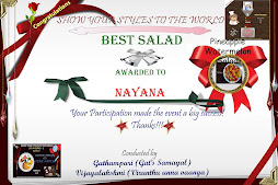 SYS - 3 Award for Best Salad