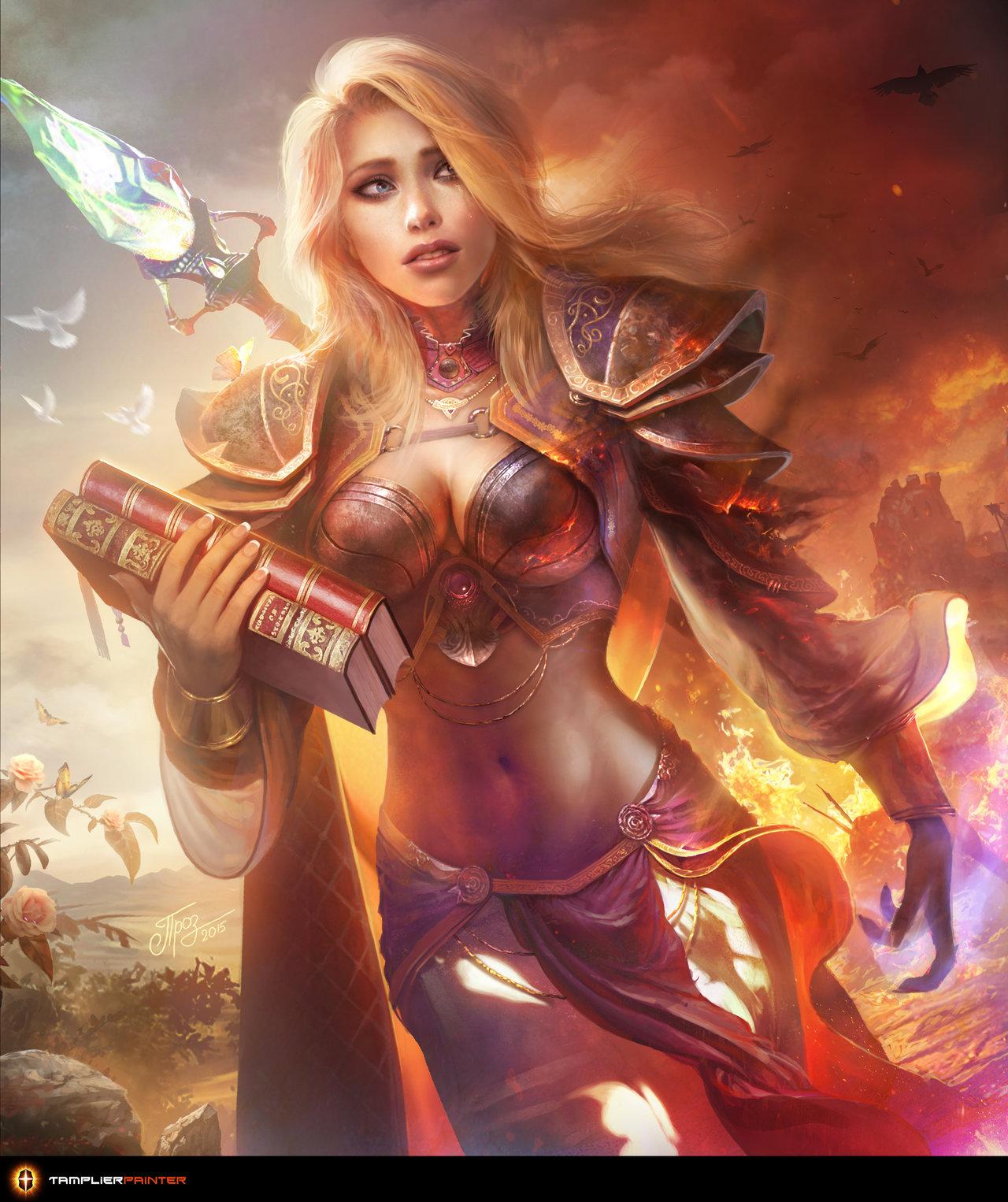warcraft World jaina of