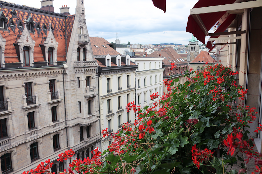 Where to stay in Lausanne: Lausanne Palace hotel