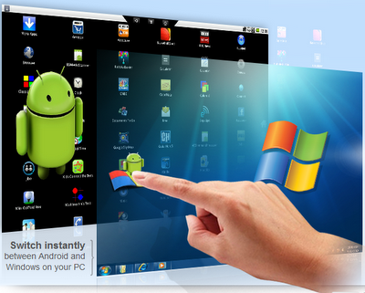 Android apps on window