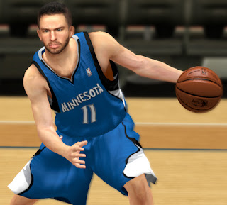 NBA 2K13 J.J. Barea Cyberface Patches
