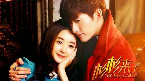 Poster drama Cina Boss and Me (2014)