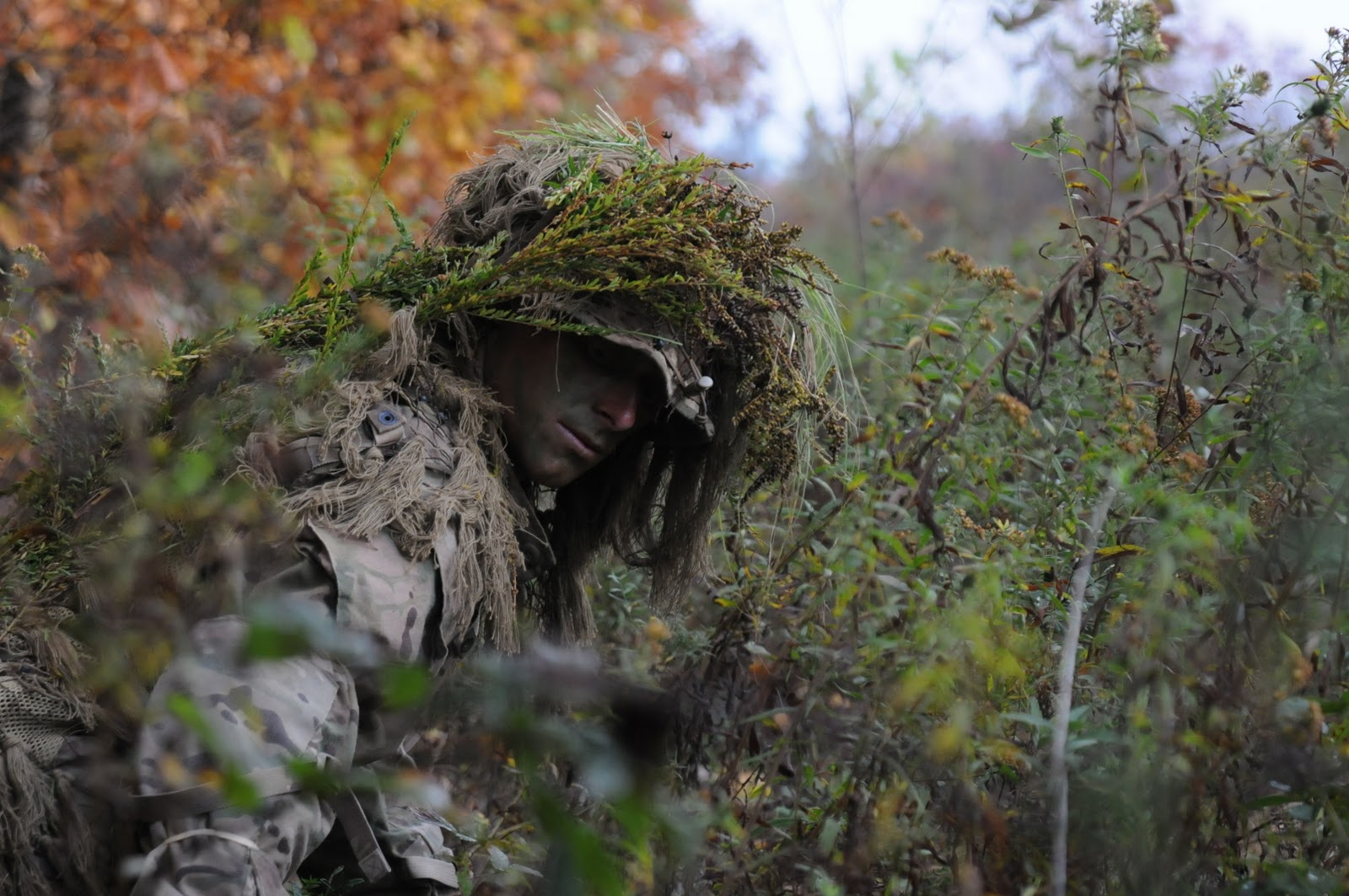 how to become a marine sniper