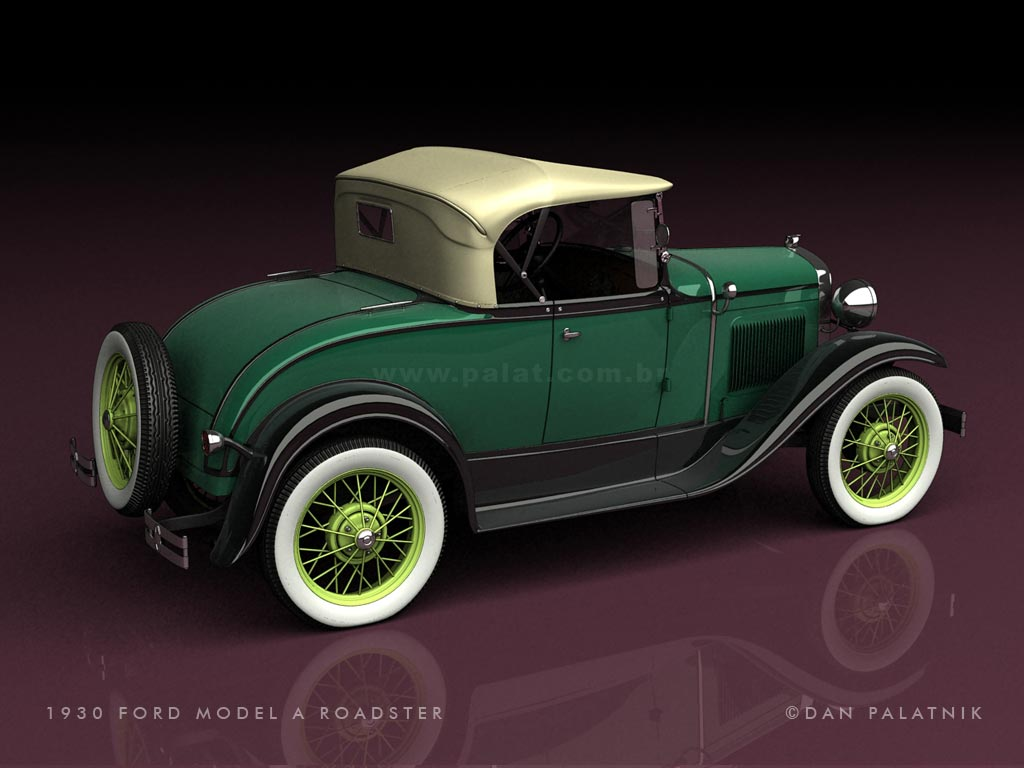 1930 Ford Coupe - Scratch Made