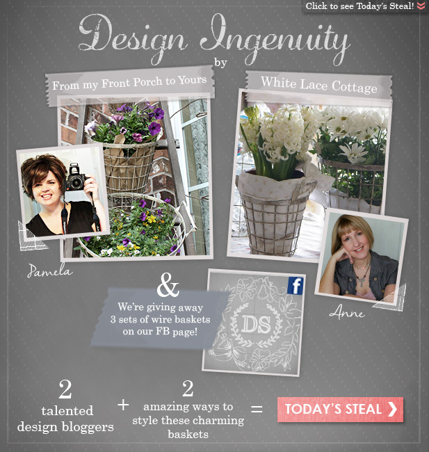 Design Ingenuity Event- Decor Steals-From My Front Porch To Yours