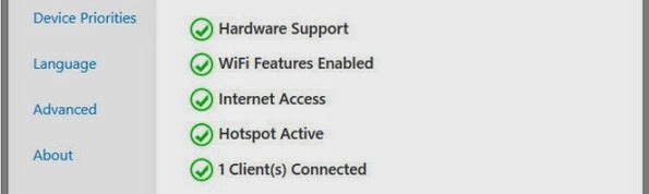 Thinix WiFi Hotspot software