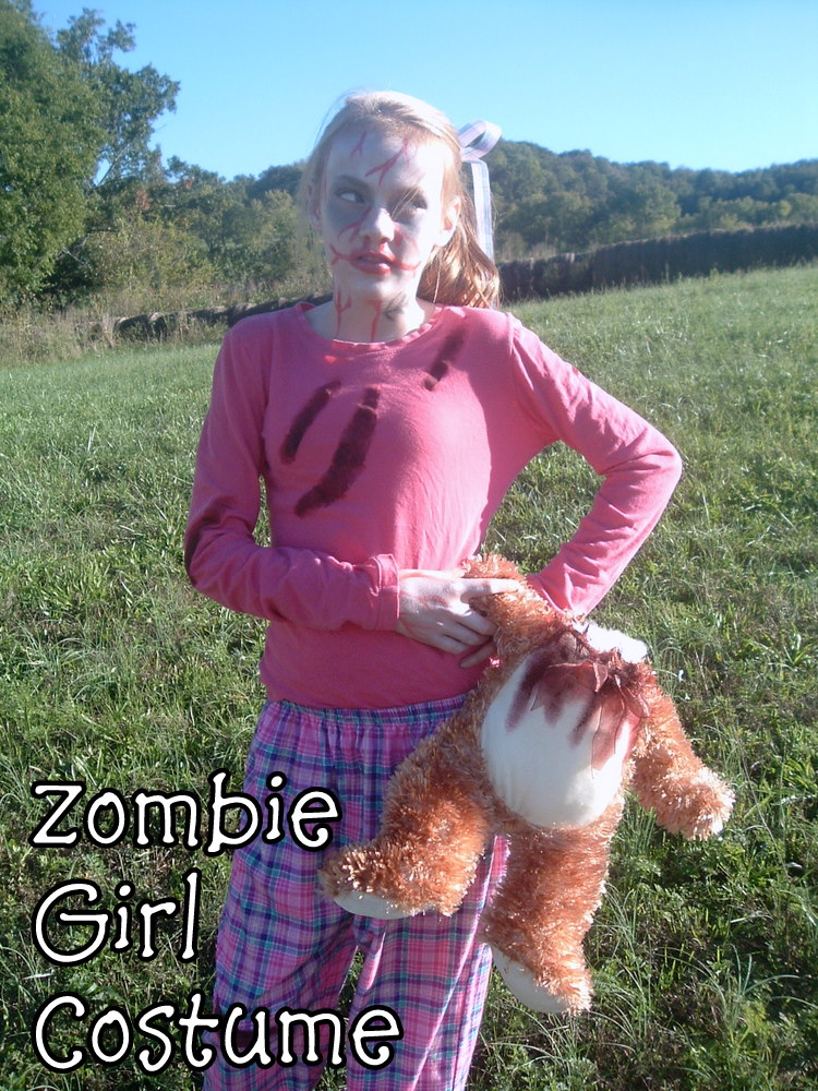 Zombie Girl Costume and PLEASE VOTE FOR ME!! - * THE COUNTRY CHIC ...