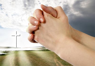 Foto Orang Berdoa