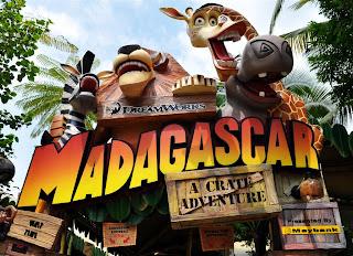Madagascar Universal Studio Singapore