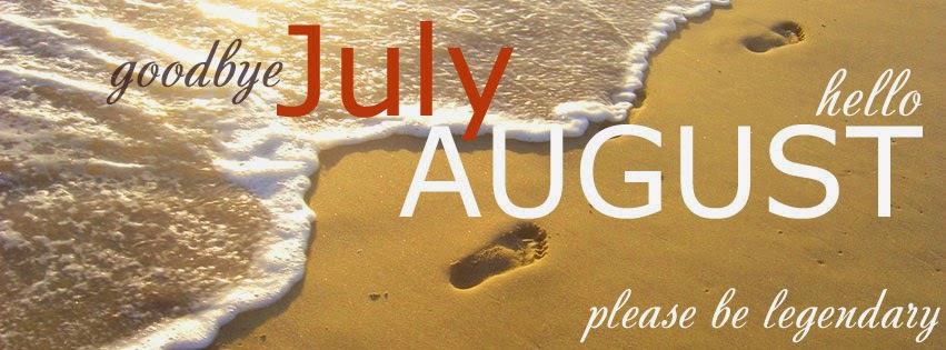 Ảnh bìa Facebook chào tháng 8/2014