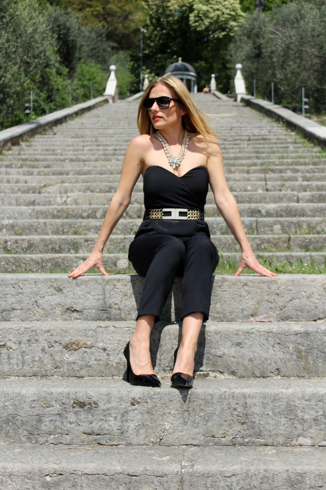 Eniwhere Fashion - Black Jumpsuit Be Secrets
