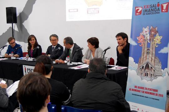 Rueda de prensa del XXI Salón del Manga de Barcelona