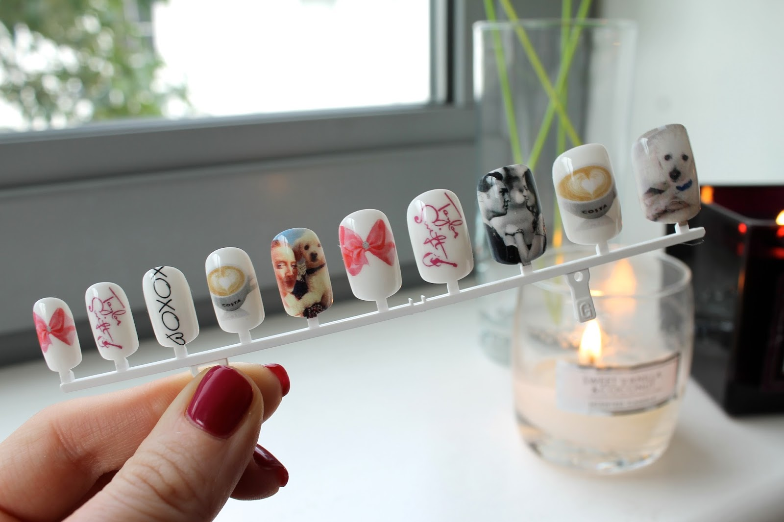 Bec Boop's custom set of Art Pro Nails