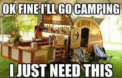 ok fine i'll go camping