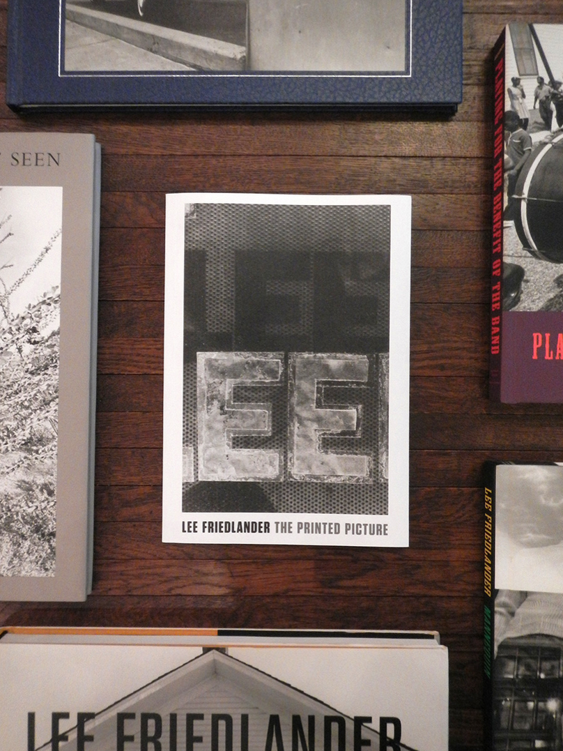 """Lee Friedlander - """"the book is more my medium than the wall"""""""