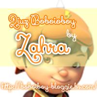 Quiz Boboiboy Zahra