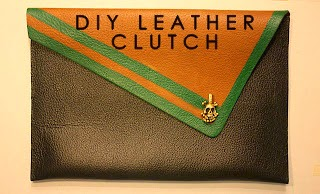 DIY, LEATHER, CLUTCH