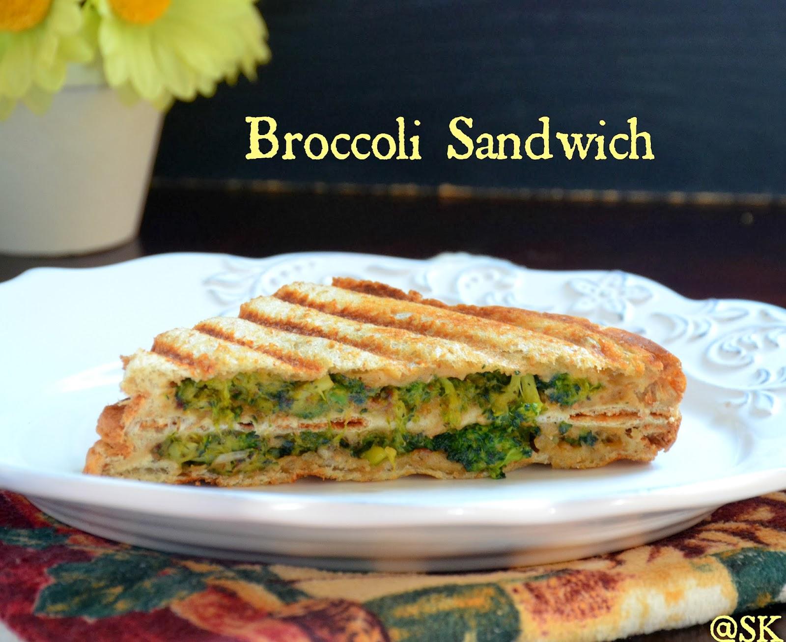 Savithas kitchen broccoli sandwich iron rich breakfast for kids broccoli sandwich iron rich breakfast for kids step by step forumfinder Choice Image