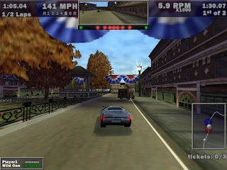 Screen shot of car