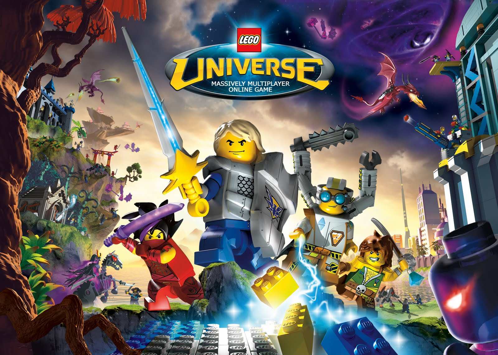 Legouniverseworldeg aside from simplified registration and game access for consumers digital distribution will also enable lego universe to expand more efficiently voltagebd Images