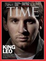 Leo Messi en la portada de Time