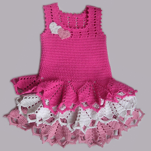 Valentine Dress for little Girls