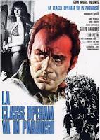 LA CLASE OBRERA VA AL PARAÍSO (Elio Petri, Italia 1971)