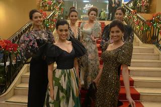 Megan Young, Isabella Manjon, Karylle Tatlonghari, Denise Laurel, Lauren Young, Shamcey Supsup