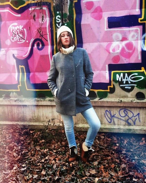 уличный стиль осень 2014