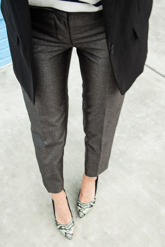 Here&Now: cropped pants for work