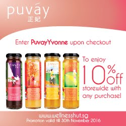 Apply promocode PuvayYvonne to enjoy 10% off!