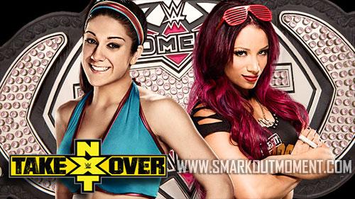 NXT TakeOver 30 Minute Iron Woman Match Sasha Banks vs Bayley