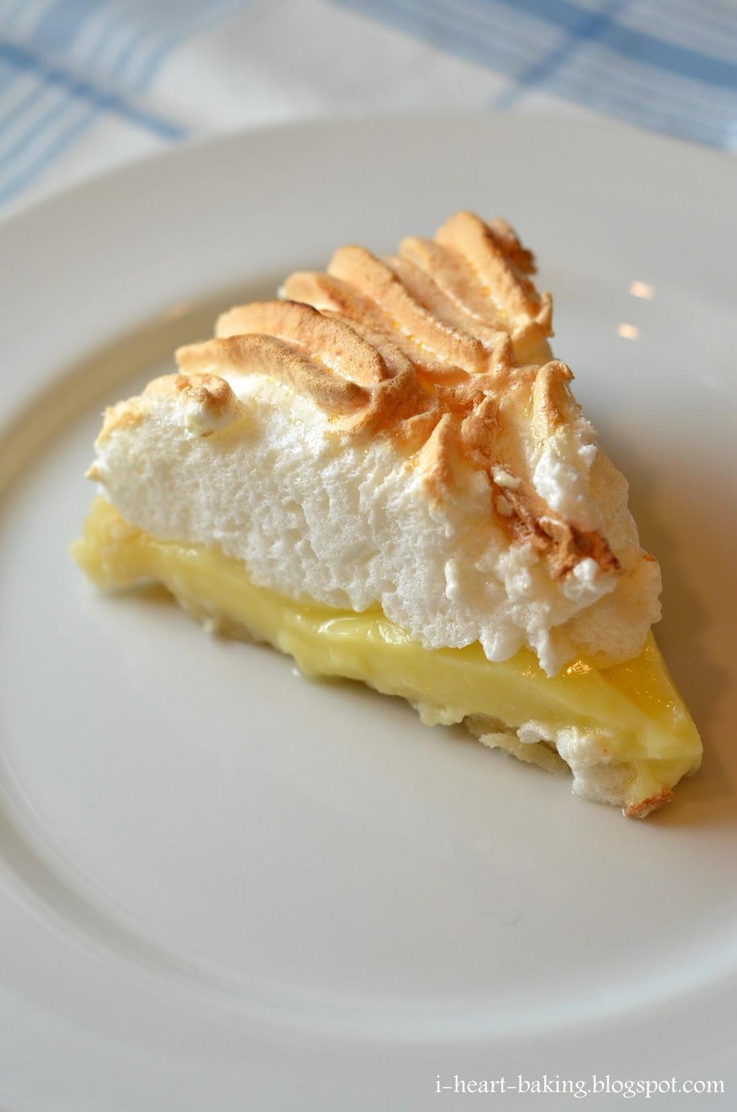 heart baking!: lemon meringue pie