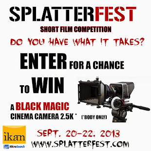 SPLATTERFEST SHORT FILM COMPETITION 2013