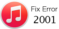 fix itunes error 2001
