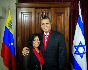 RABINO EDREY BRITO y REBETZIN SILVIA DE BRITO