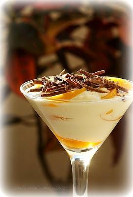 Мусс шоколадный с абрикосами