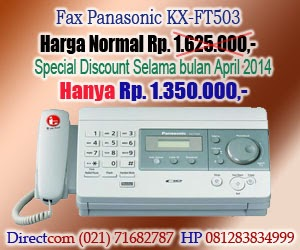NEW Promo Fax Panasonic